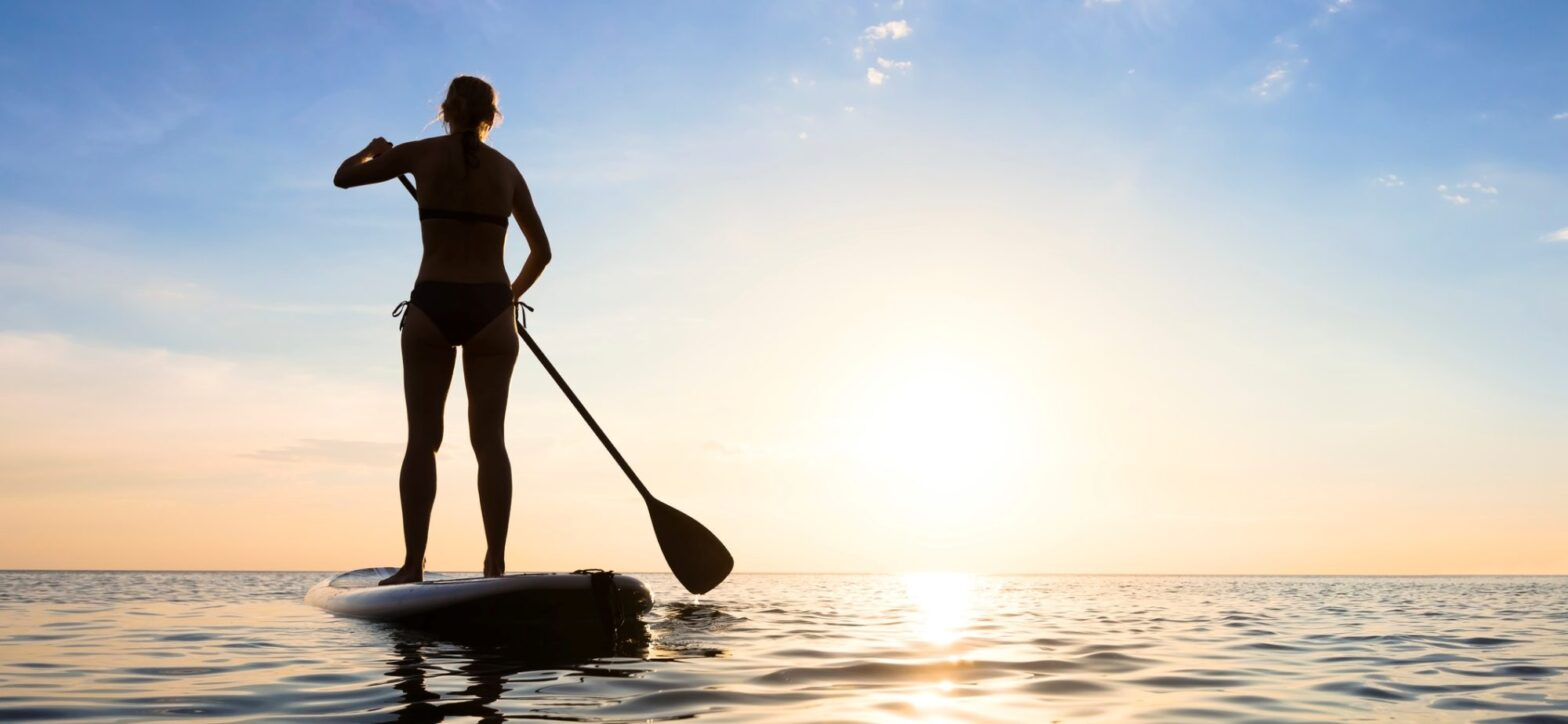 Tour in Stand Up Paddle SUP a Villasimius