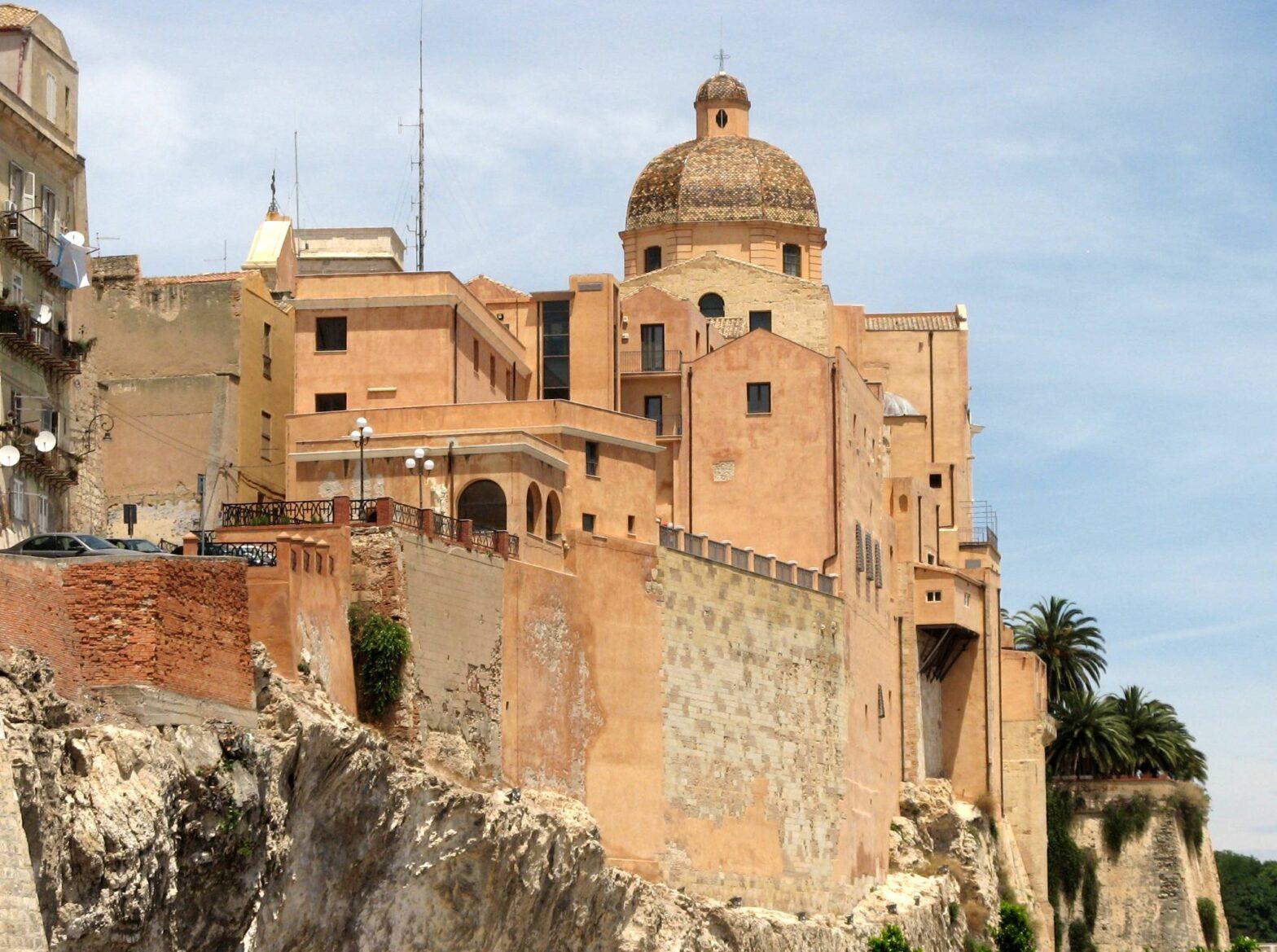 Cathedral of Cagliari Sardinia | historic tour of cagliari