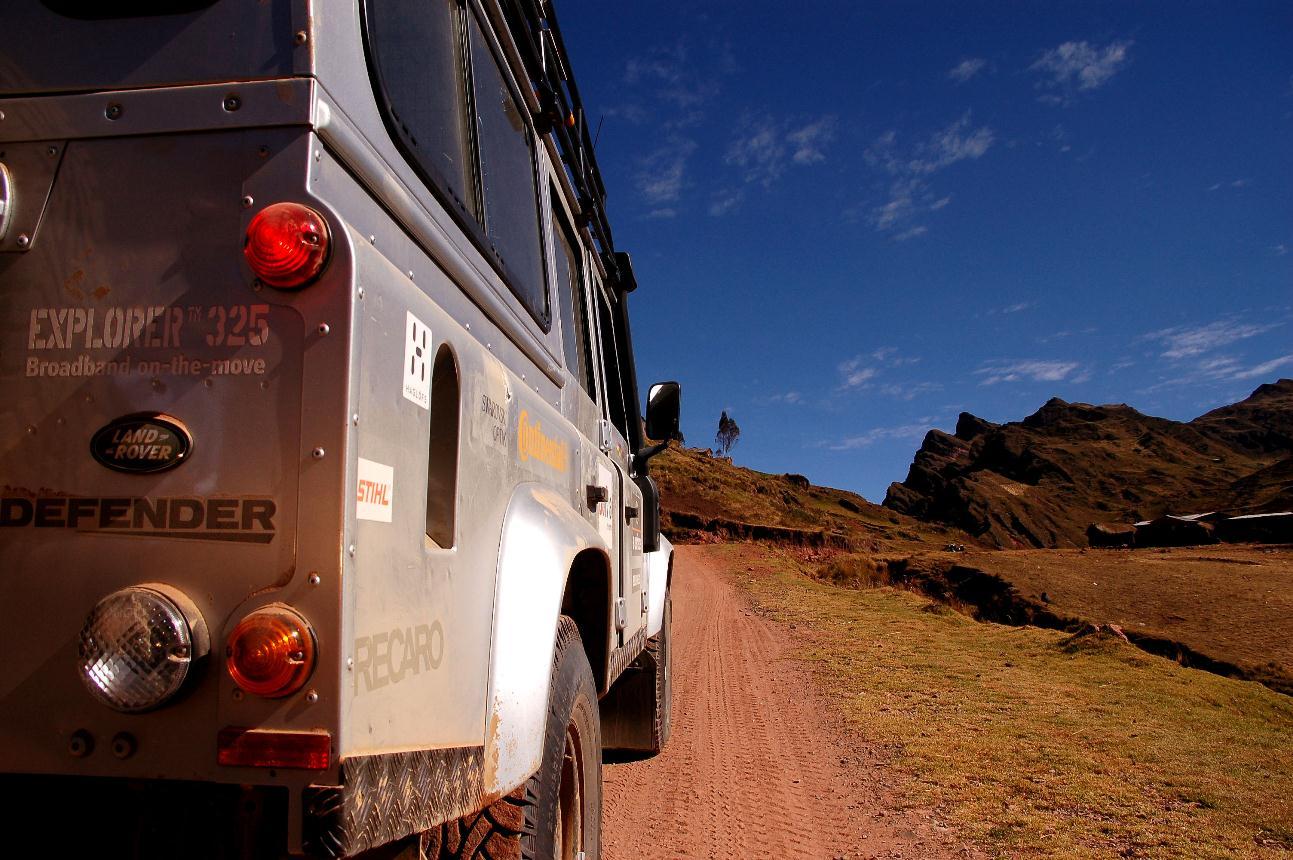 Land Rover Tours in Sardinia